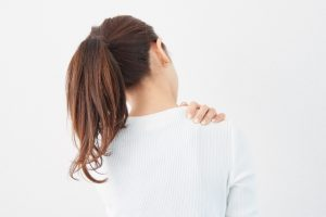 Tension of the shoulder stiffness