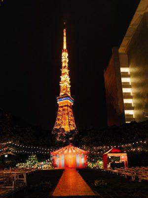 ナイトプール 東京プリンスホテル