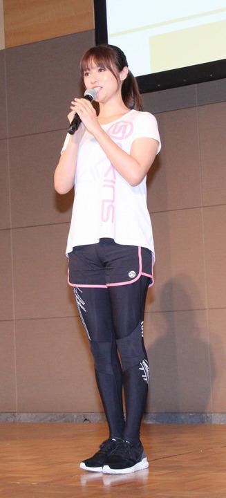 深田恭子 コンプレッションウェア