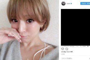 浜崎あゆみ Instagram 加工