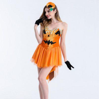 ハロウィン 仮装 コスプレ かぼちゃ