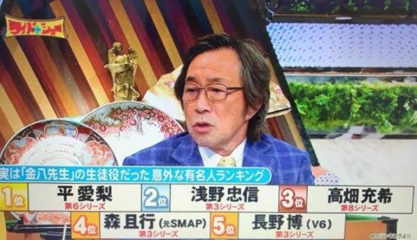 ワイドナショー 金八先生 武田鉄矢