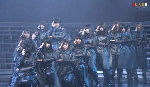 欅坂46 紅白 過呼吸