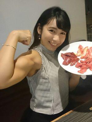 筋肉アイドル 才木玲佳