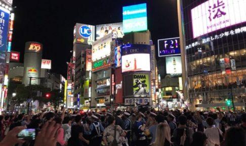 サッカー日本 渋谷
