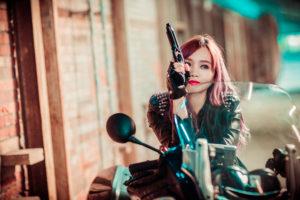 バイク女子 出会い
